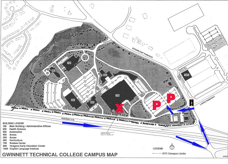 Ggmug About: Map Of Georgia Gwinnett College At Usa Maps